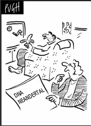NeanderthalHumanCartoonDailyMail