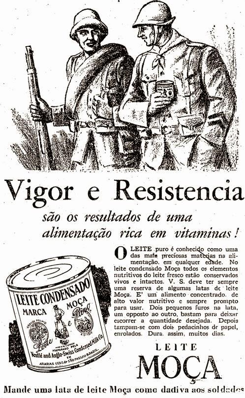 propaganda do leite moça revolução consitucionalista em 1932