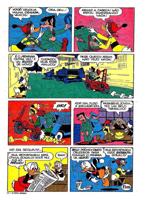 Pato Donald - 1078 - 1972 ed. Abril