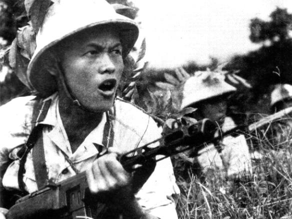 Alguns anos depois, os mesmos contendores se enfrentaram na mesma região, com o início da guerra do Vietnã.