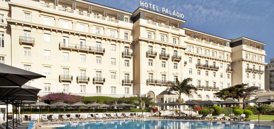 Hotel Palácio, Estoril, Portugal.