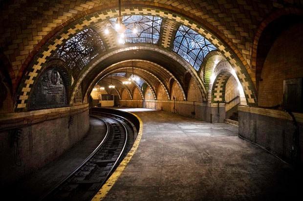 City Hall Subway Station, em Nova York