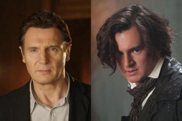 Há uns 30 anos separando os dois, por isso mesmo Liam Neeson não parece o pai do Benjamin Walker?