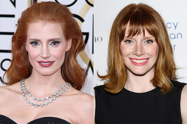 Jessica Chastain e Bryce Dallas Howard.