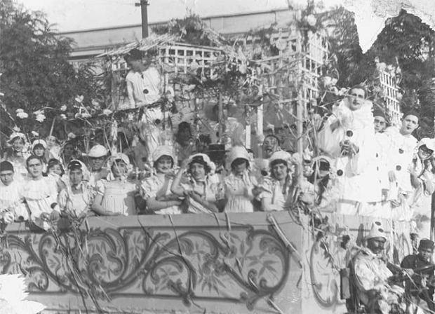 Carnaval na Avenida Paulista, 1926