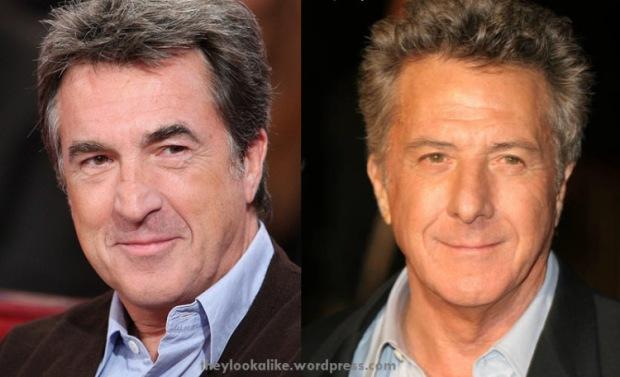 François Cluzet e Dustin Hoffman.