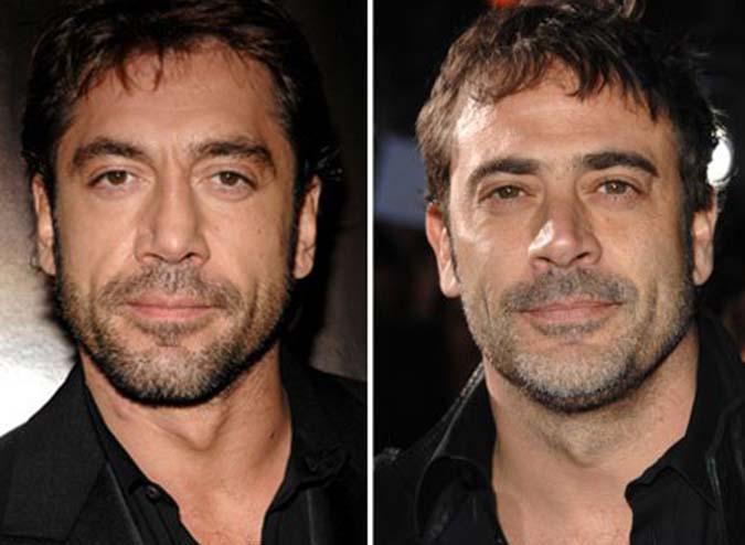 Mais um caso de clonagem: Javier Bardem e Jeffrey Dean Morgan.