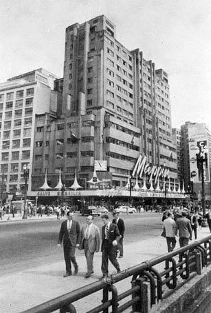 Mappin na Praça Ramos, 1960