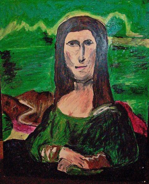 Mana Lisa, a interpretação transgênero do clássico de Da Vinci