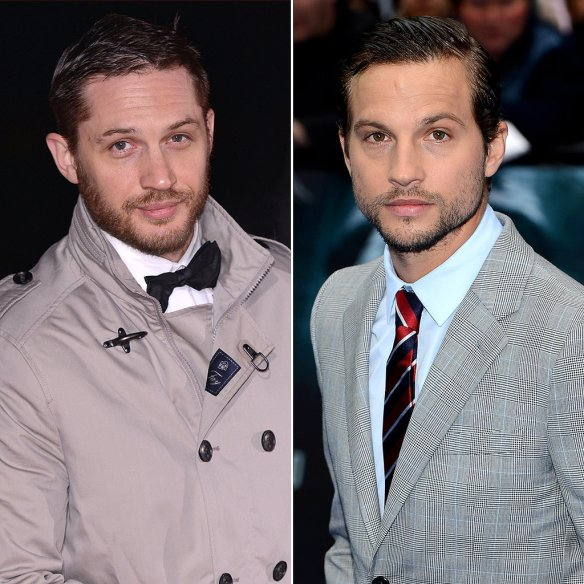 Tom Hardy e Logan Marshall-Green.