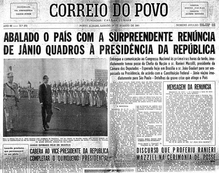 26-de-agosto-de-1961-Renúncia-Jânio-Quadros
