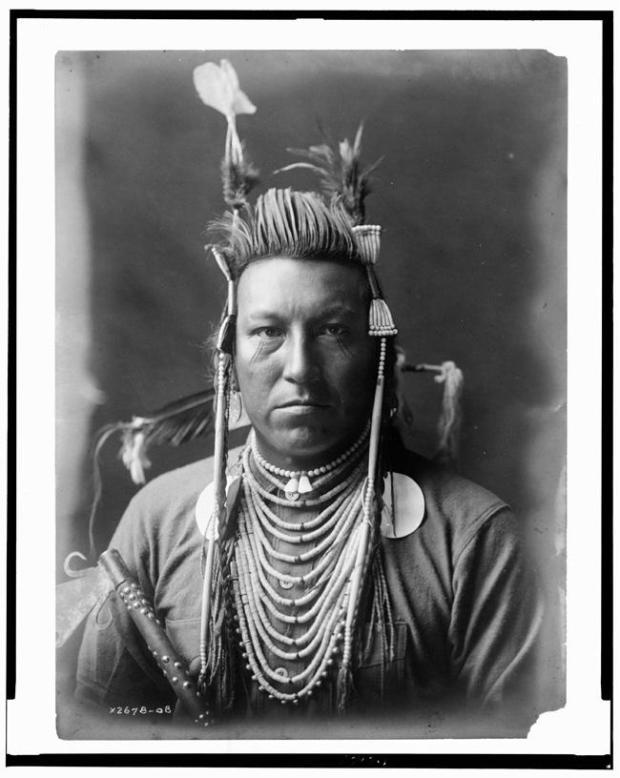 Retrato de chefe indigena