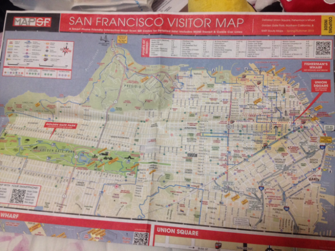 Map West San Francisco