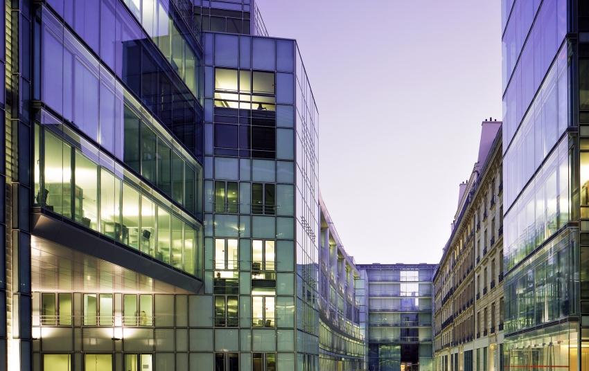 Nova sede da Cartier em Paris, na Faubourg Saint-Honoré.