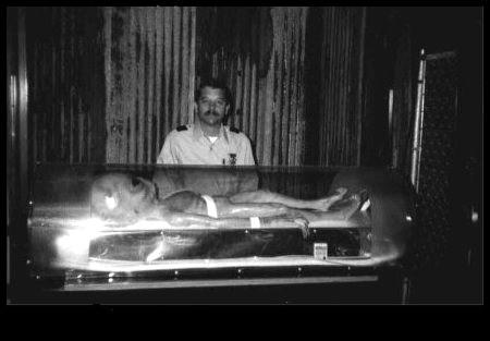 Este ET teria sido capturado e preso na Área 51.
