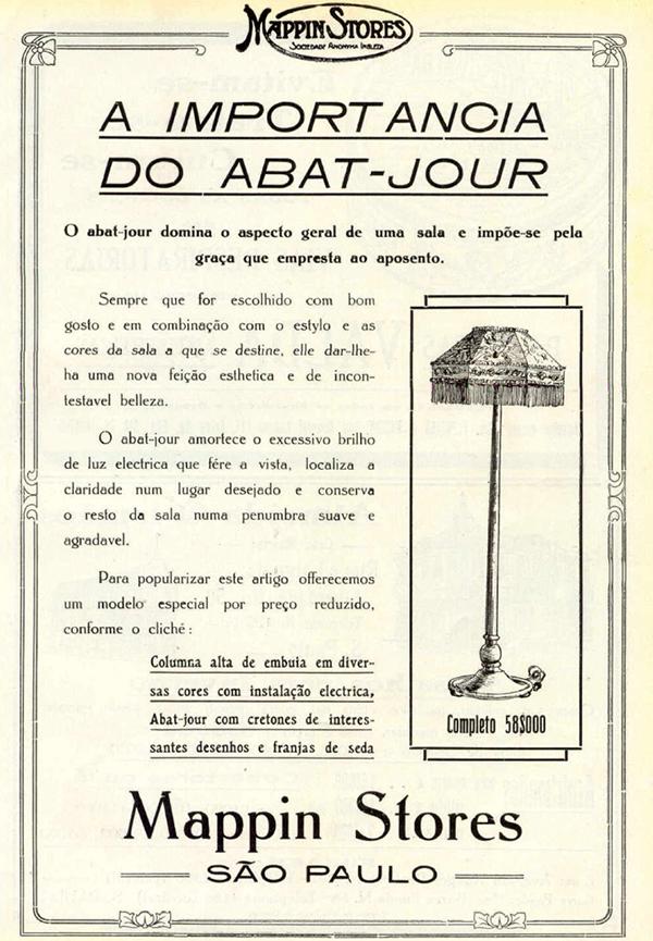 Este anúncio é de 1918.