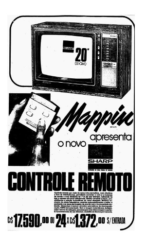 Como havia o crediário, a maioria dos clientes preferia visitar primeiro o Mappin, que investia pesado em mídia