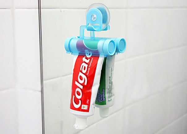 Espremedor de pasta de dente