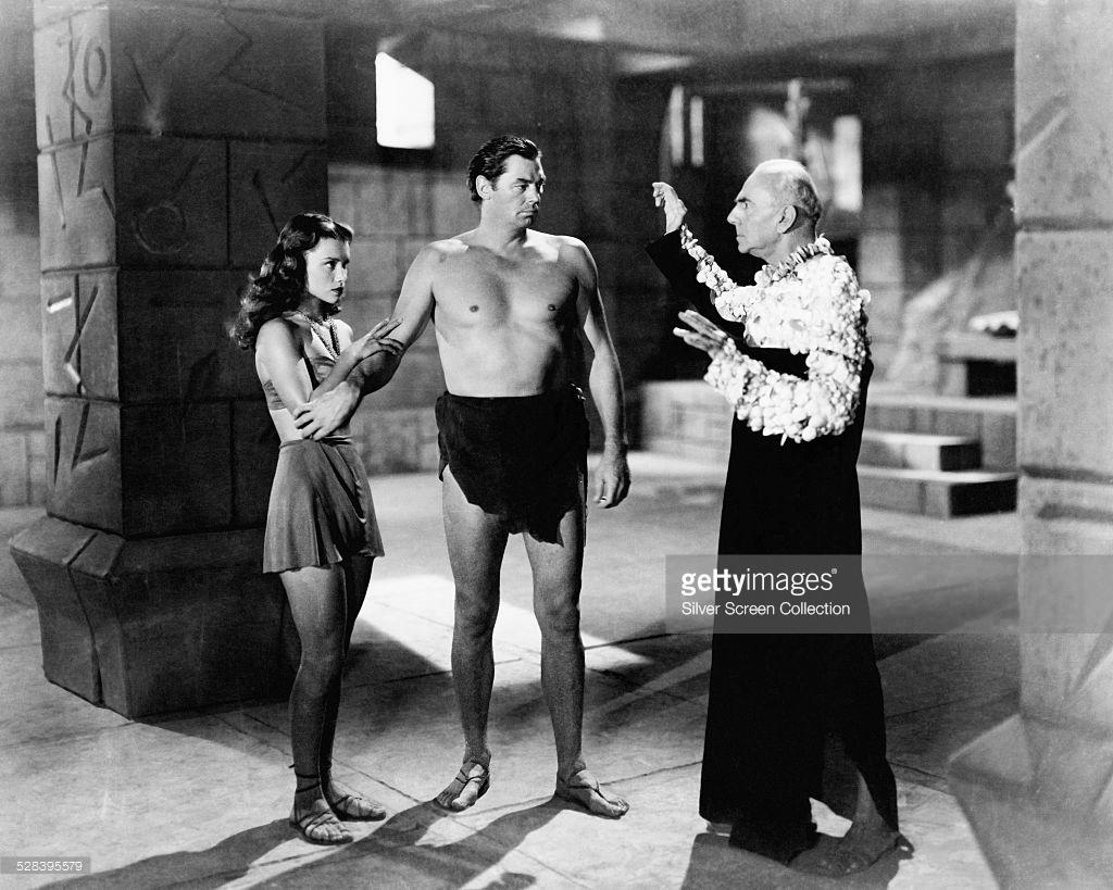 O último filme de Tarzan com o antigo campeão olímpico de natação no papel.