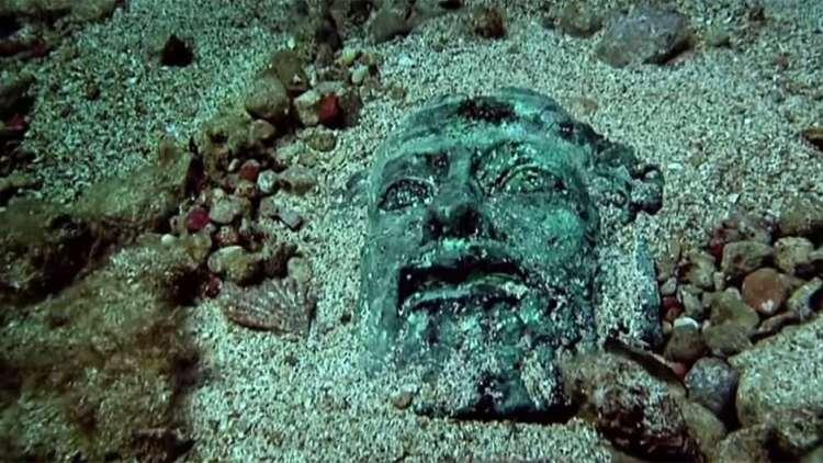 Um tesouro no fundo do Mediterrâneo
