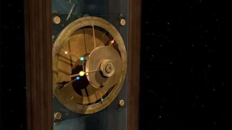 O movimento dos cinco planetas que podiam ser vistos a olho nu: Mercúrio, Vênus, Marte, Júpiter e Saturno