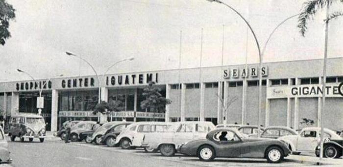 O Shopping Iguatemi na época da inauguração