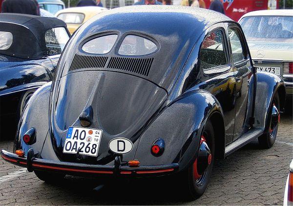 Modelo de 1950, cujas primeiras 50 unidades foram importadas no mesmo ano pelo Brasil.