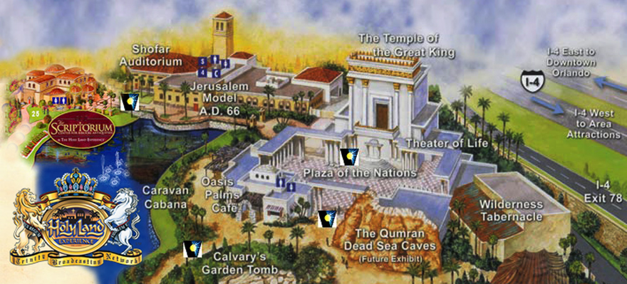 the_holy_land_experience_map