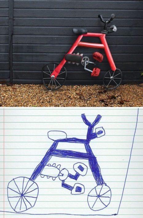 Arte abstrata? Esse é o trabalho de um menino de apenas 6 anos.