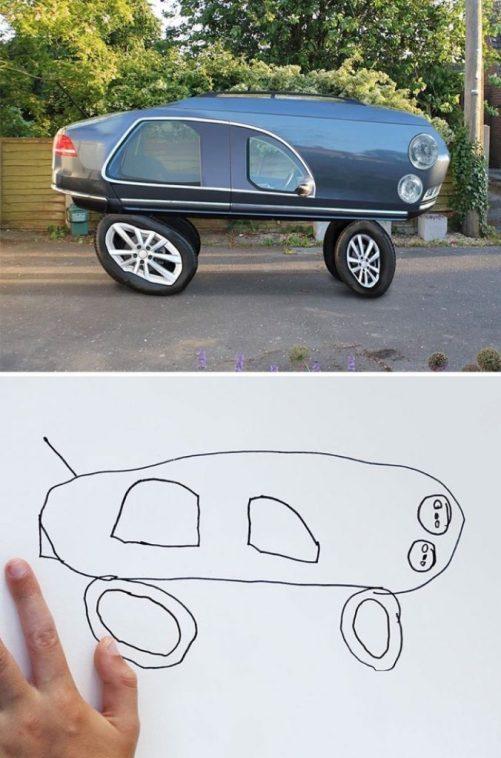 Gostei do carro. Tem estilo, pelo menos.