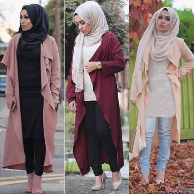 Cardigans-Hijab